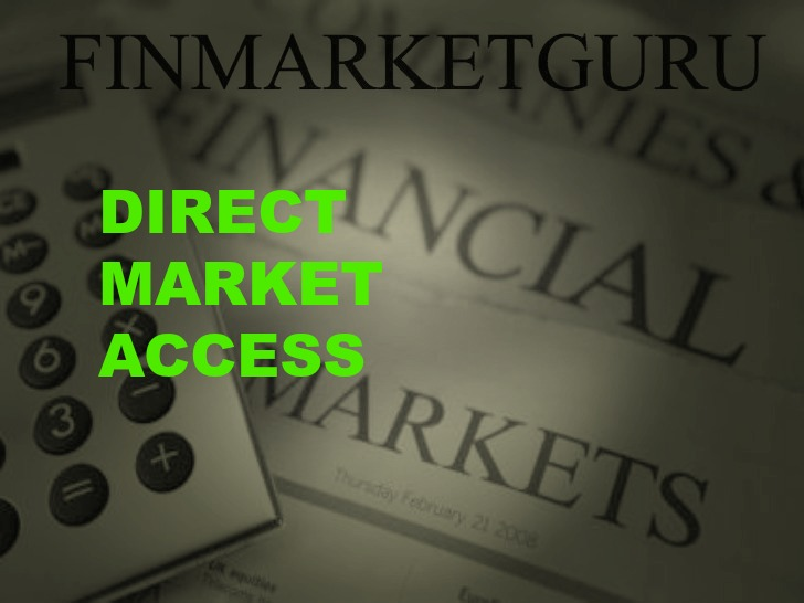 Direct market access forex trading