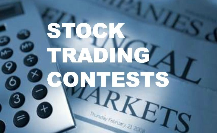 Stock options trading contest