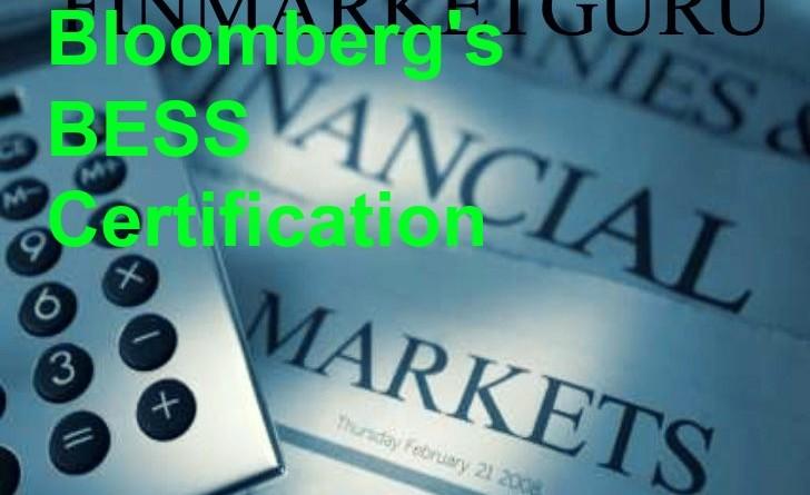 bloomberg certification bess markets