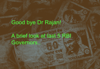 Goodbye Dr Rajan! A brief look at last 5 RBI governors!