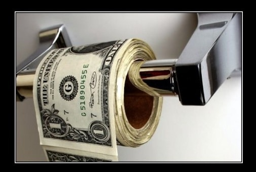 fiat money: money without a backbone